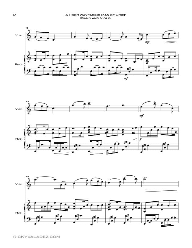 Free LDS Sheet Music and LDS Hymns arrangements | Ricky Valadez