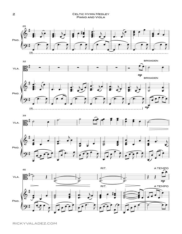 Free Lds Sheet Music And Lds Hymns Arrangements Ricky Valadez