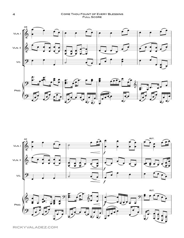 2 piano 4 hands sheet music