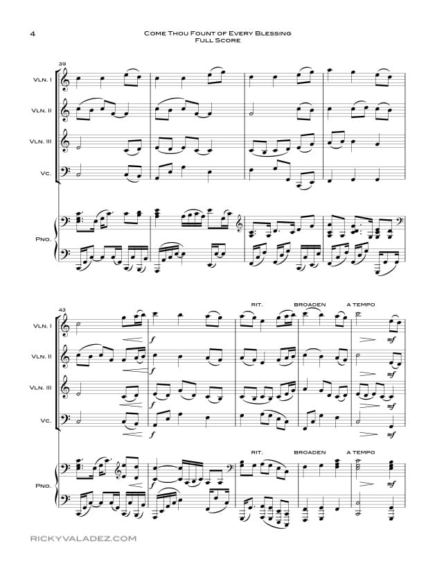 All Music Chords free french horn sheet music : Free LDS Sheet Music and LDS Hymns arrangements | Ricky Valadez