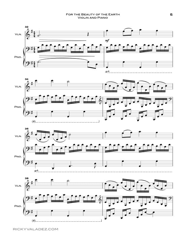 Piano ave maria sheet music piano : Free LDS Sheet Music and LDS Hymns arrangements | Ricky Valadez ...